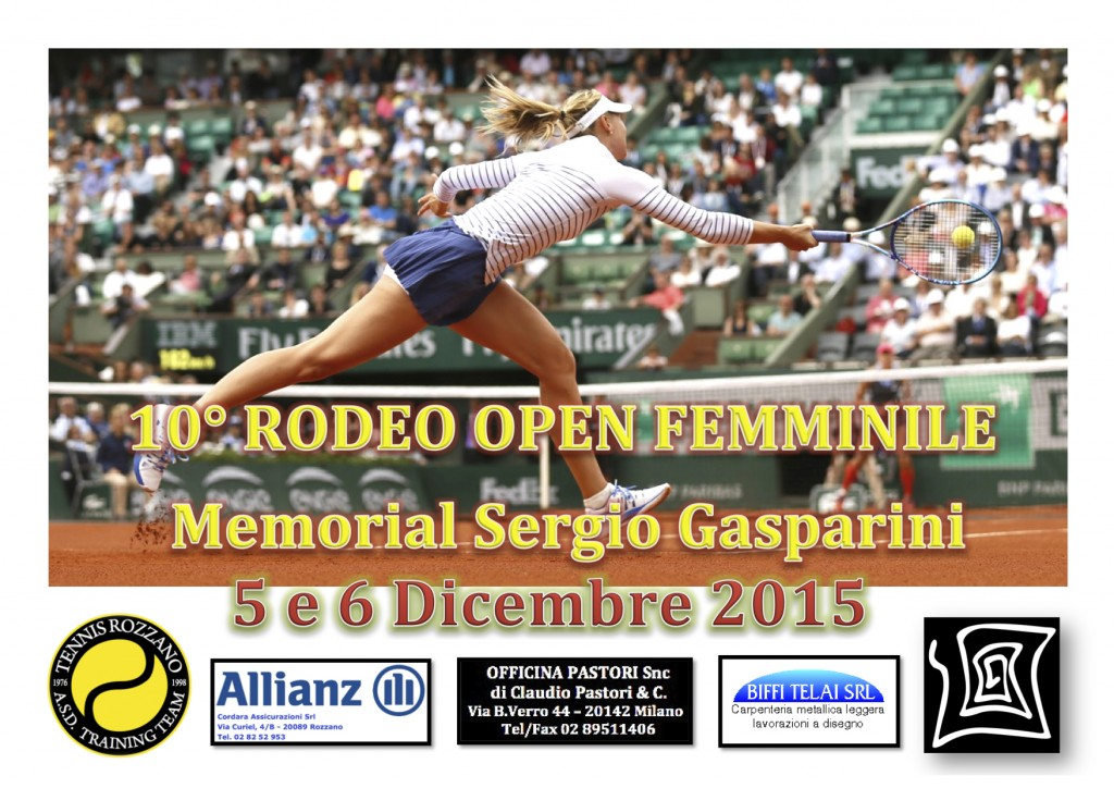 10° Rodeo Open F 2015