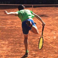 Tennista ai Raggi X – Servizio in Kick