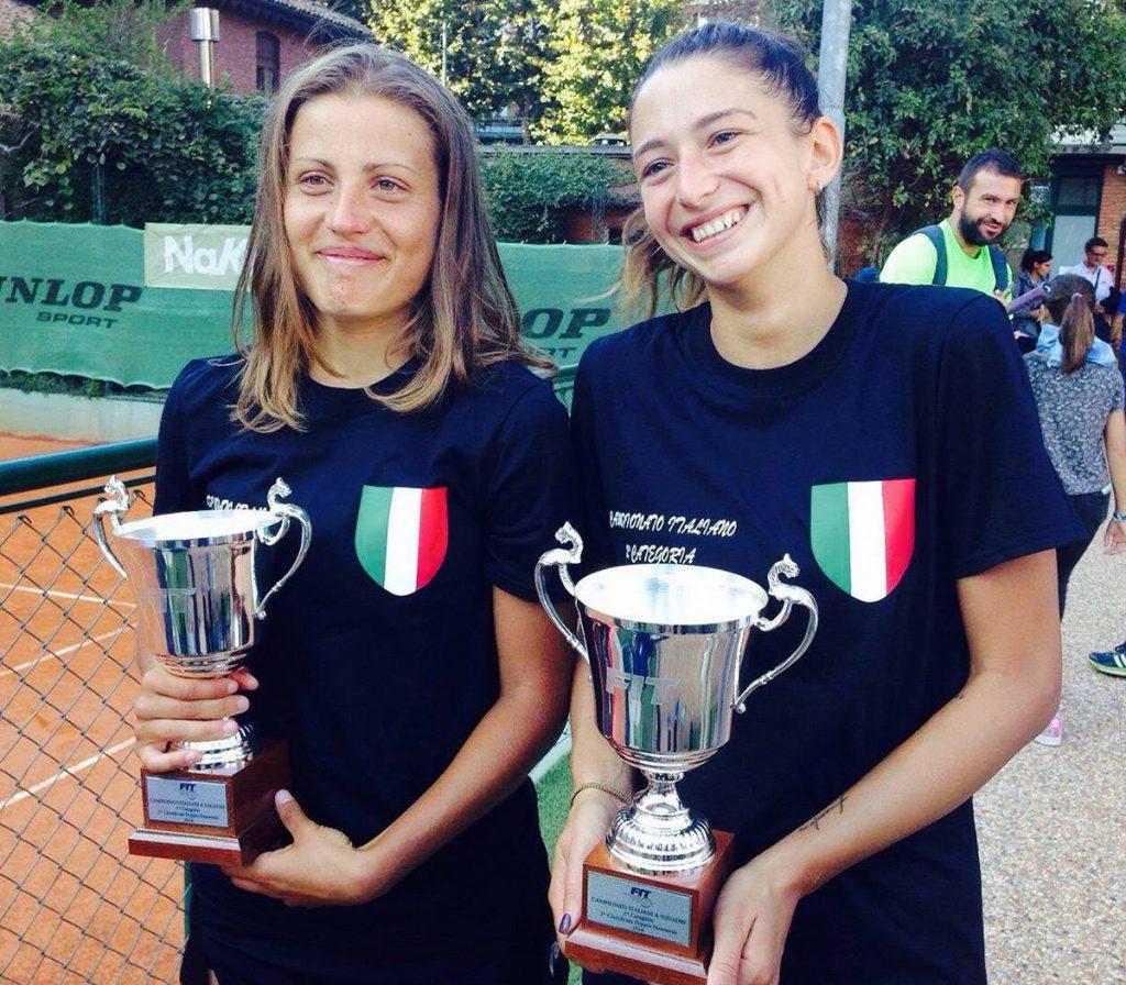 Sara Marcionni e Jessica Bertoldo