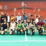 Wall Tennis Training