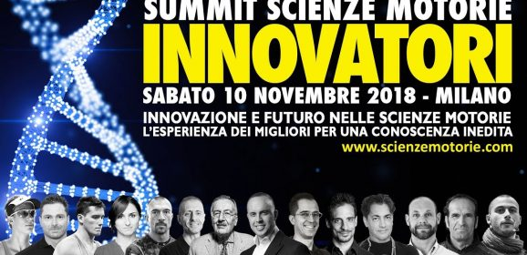 """Innovatori"" – Summit Scienze Motorie 2018"