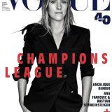 """""""Co"""" trucca la Kerber per Vogue Germania"""